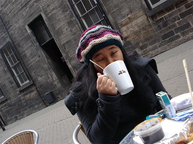 Boxing Day coffee break