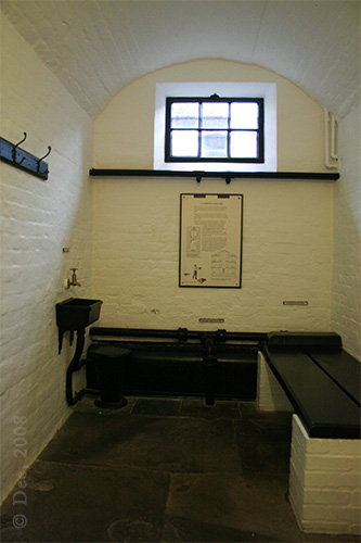 The Cell in Military Prison