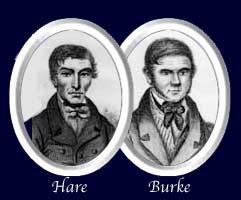 Drawings of Burke & Hare