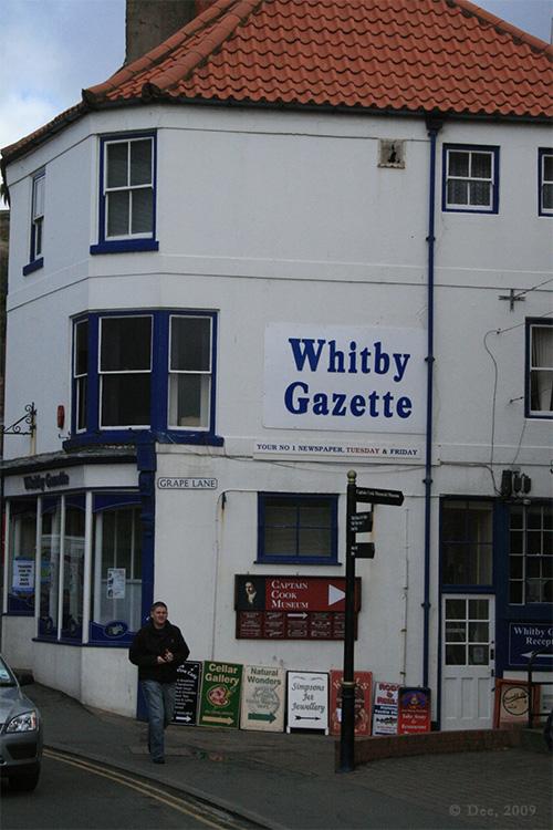 Whitby - Gazette