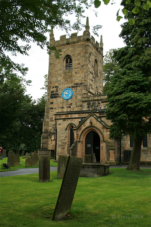 St Lawrence Church, Eyam