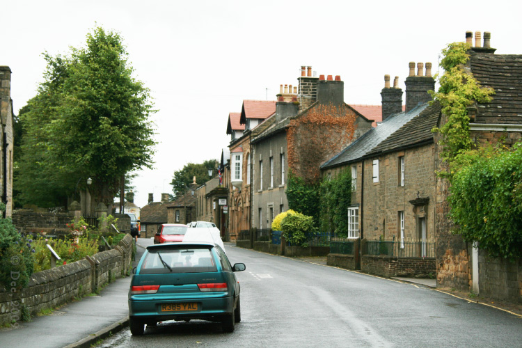 Eyam's Main Road