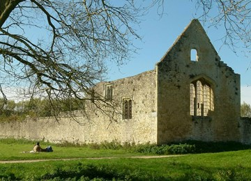 Godstow Abbey, THE DEATH MAZE
