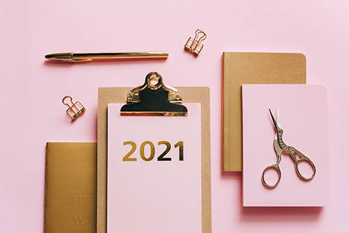 2021, New Year, Olya Kobruseva
